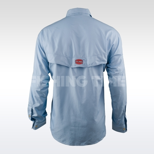 Penn Vented Performance Shirts horgászing kék