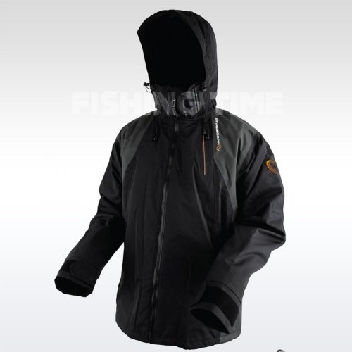 Savage Gear Black Savage Jacket Grey horgász dzseki