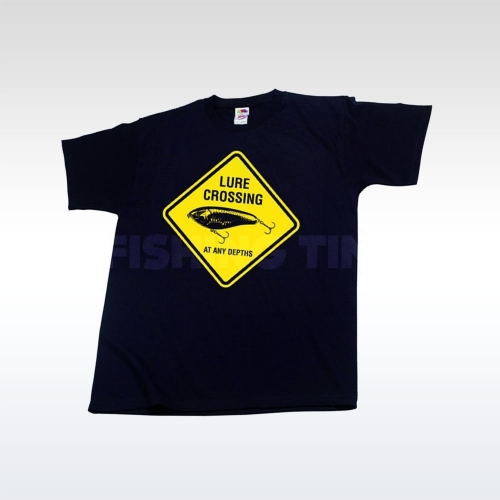Illex T-Shirt Lure Crossing Black póló