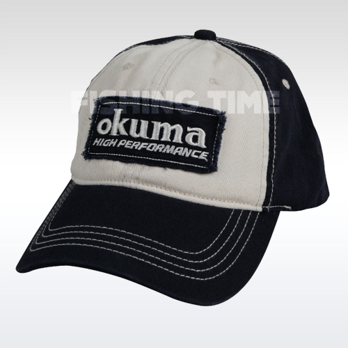 Okuma Full Back Two Tone Blue Patch baseball sapka