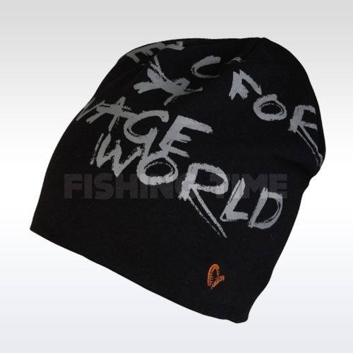 Savage Gear World Beanie Black sapka