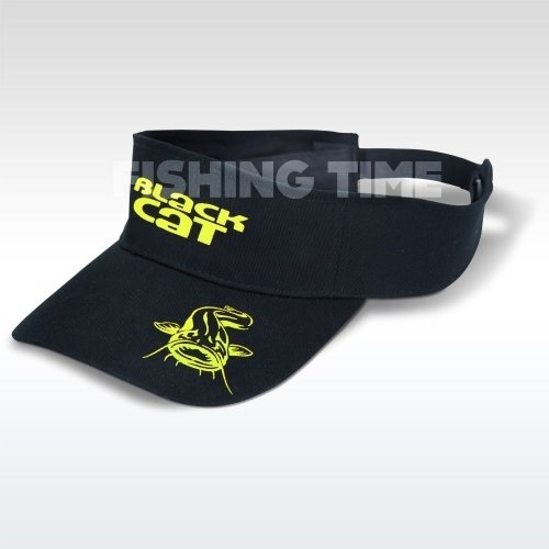 Black Cat Visor sapka