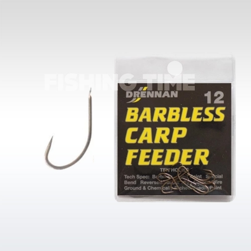Drennan Barbless Carp Feeder horog