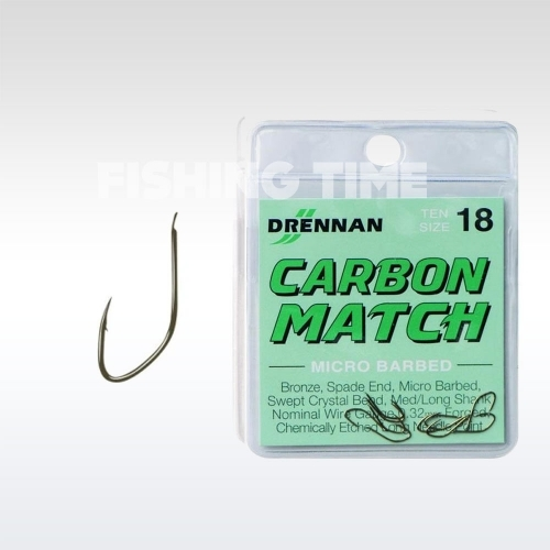 Drennan Carbon Match horog