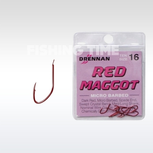 Drennan Red Maggot horog