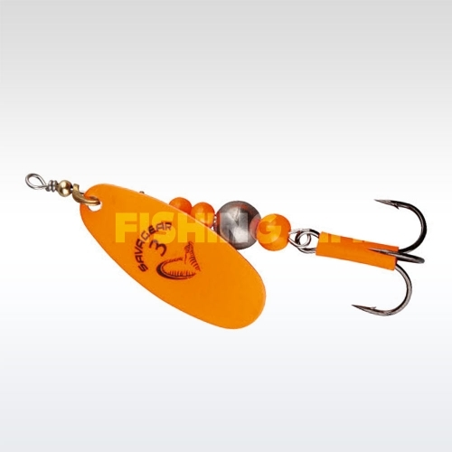 Savage Gear Caviar Spinner #4 06-Flou Orange