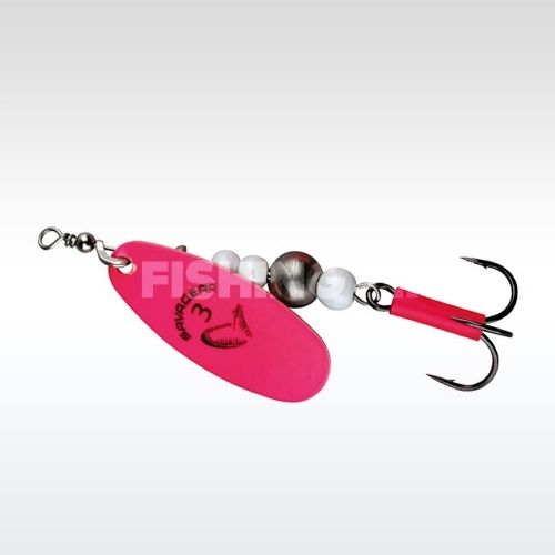 Savage Gear Caviar Spinner #4 08-Fluo Pink