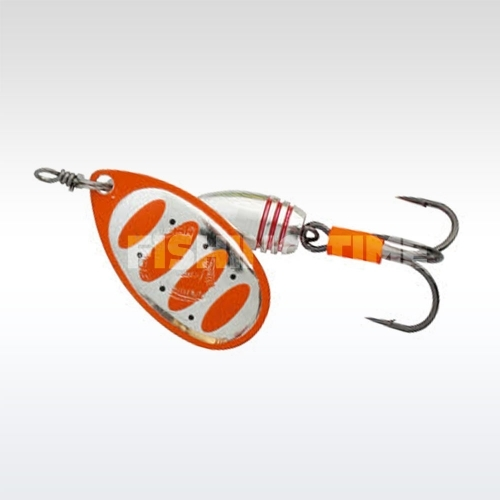 Savage Gear Rotex Spinner #1 04-Fluo Orange Silver
