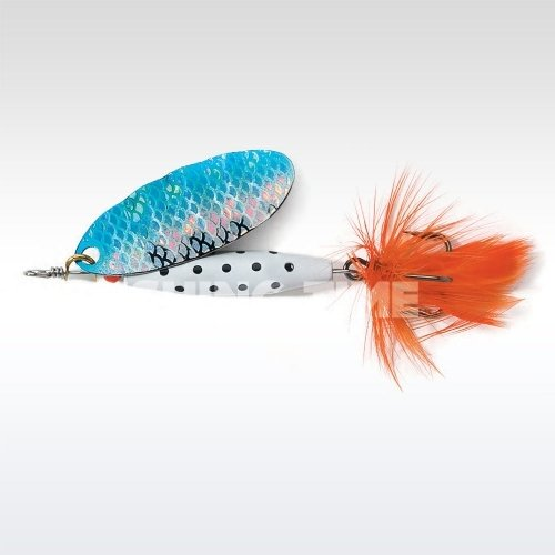 ABU Garcia Reflex White 12g S/Blue Flash