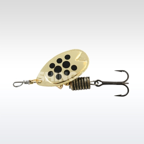 ABU Garcia Fast Attack 10g Gold/ black dots