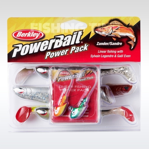 Berkley Powerbait Linear Fishing pro pack plasztikcsali csomag