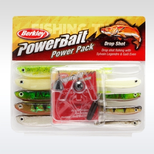 Berkley Powerbait Drop Shot pro pack plasztikcsali csomag