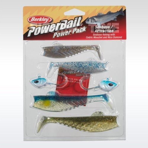 Berkley Powerbait Seabass Attraction pro pack plasztikcsali csomag