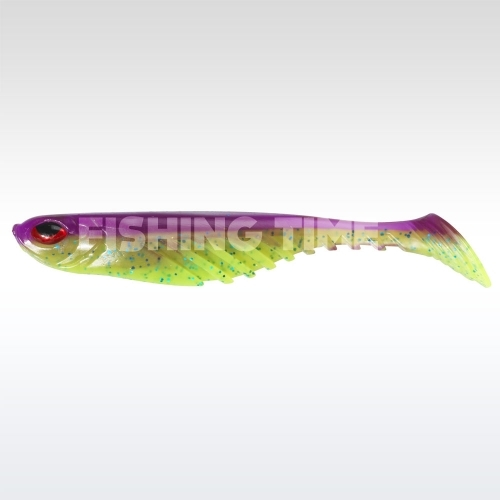 Berkley PowerBait Ripple Shad 9 Purple Chartreuse