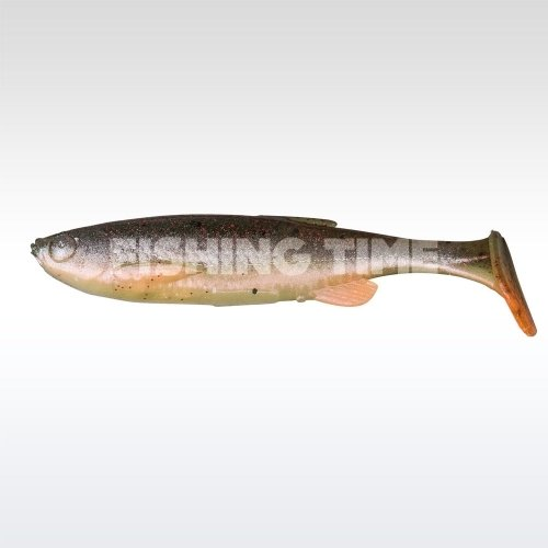 Savage Gear Fat T-Tail Minnow 13 04-Green Pearl S