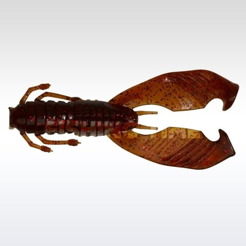 Pezon & Michel / Gunki Boogie Craw 7.5 Brown Oil Red Flake