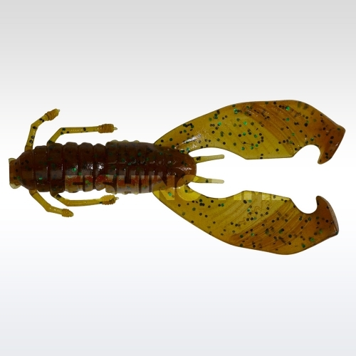 Pezon & Michel / Gunki Boogie Craw 7.5 Pampkin Green Flake