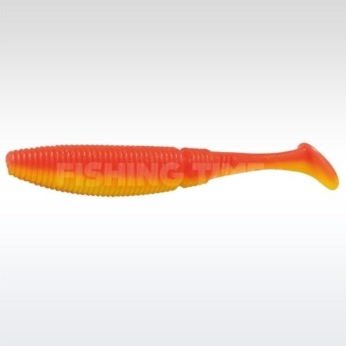 Rapture Power Shad Dual 5 plasztikcsali Flame Red & Yellow