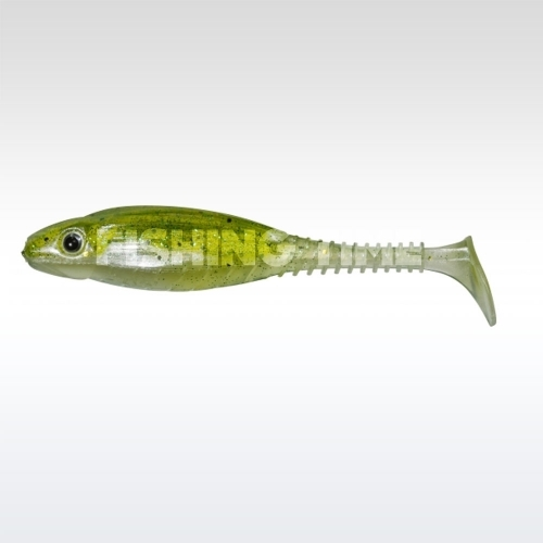 Pezon & Michel / Gunki Grubby Shad 6 Jelly Green