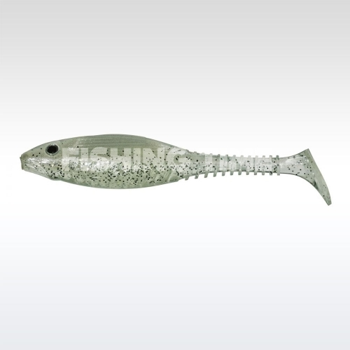 Pezon & Michel / Gunki Grubby Shad 6 White Snow