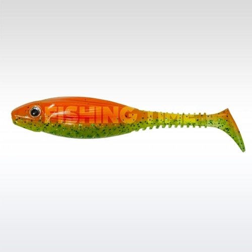 Pezon & Michel / Gunki Grubby Shad 13 Orange Chart Belly