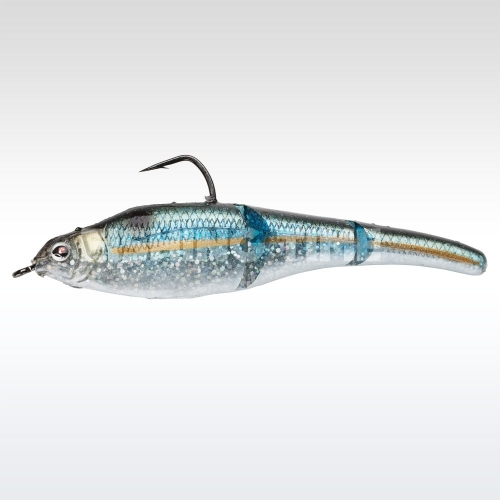 Sebile Magic Swimmer Soft 105 Natural Blue Back Herring
