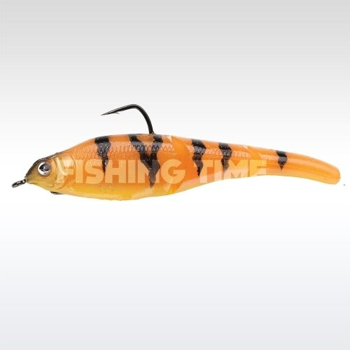 Sebile Magic Swimmer Soft 105 Orange Fleeing Prey
