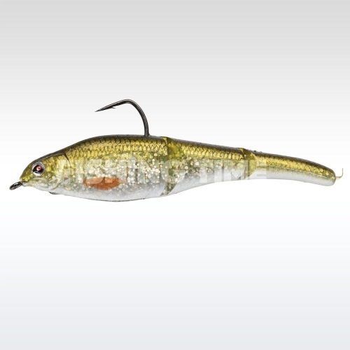 Sebile Magic Swimmer Soft 105 Natural Golden Shiner