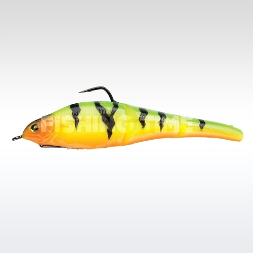 Sebile Magic Swimmer Soft 105 FireTiger Gold