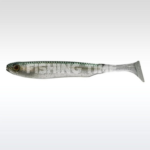 "Illex Glossy Shad 3.8"" Clear Bleak"