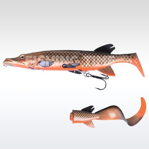 Savage Gear 3D Hybrid Pike 17 S 06-Red copper Pike