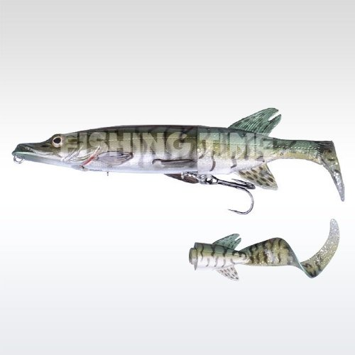 Savage Gear 3D Hybrid Pike 17 S 07-Green Silver Pike