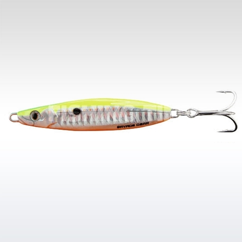 Savage Gear Psycho Sprat Pilker 60g 06s-Lemon Back Flash