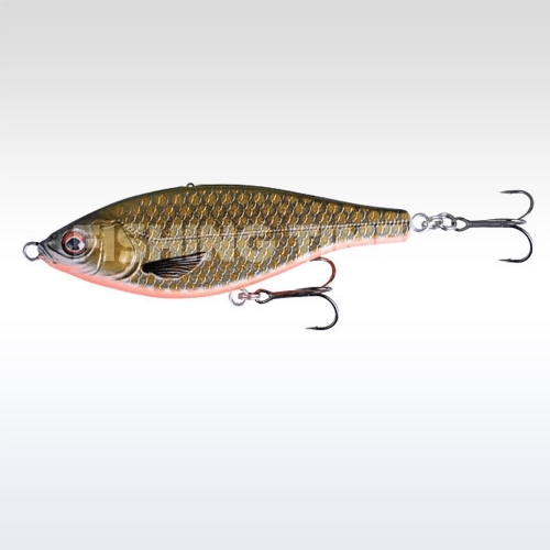 Savage Gear 3D Roach Jerkster 11.5 F 07-Red Black Cobber