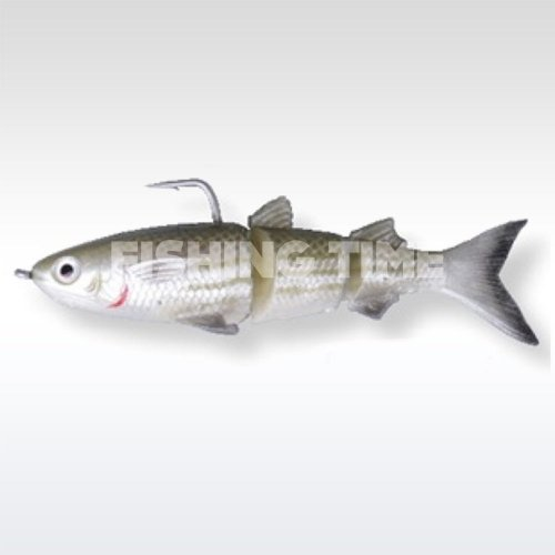 Savage Gear 3D TPE Mullet 130 SS 02-Green Silver