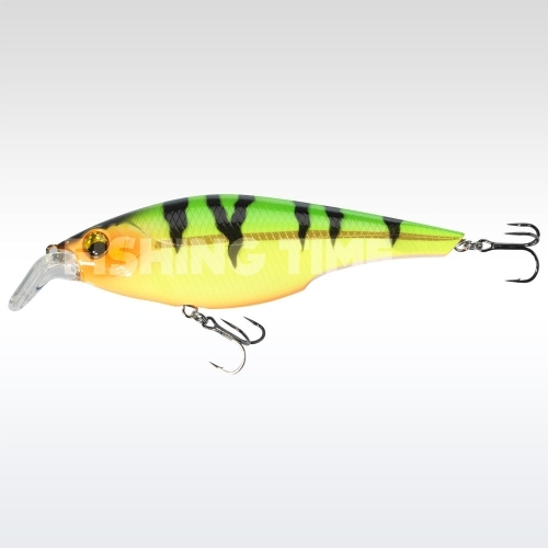 Sebile Cracking Shad 130 FL Fire Tiger Gold