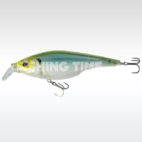 Sebile Cracking Shad 130 FL Green Back Ghost