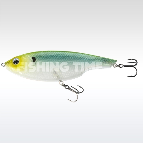 Sebile Lipless Glider 110 SK Green Back Ghost