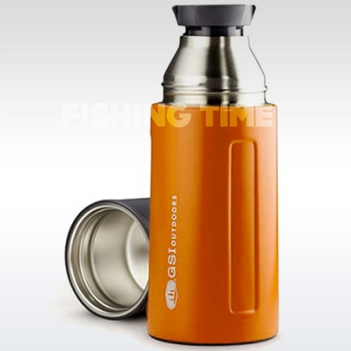 GSI Outdoors Glacier Stainless Vacuum Bottle Orange 0.5l termosz