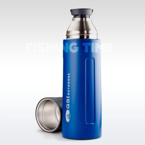 GSI Outdoors Glacier Stainless Vacuum Bottle Blue 1l termosz