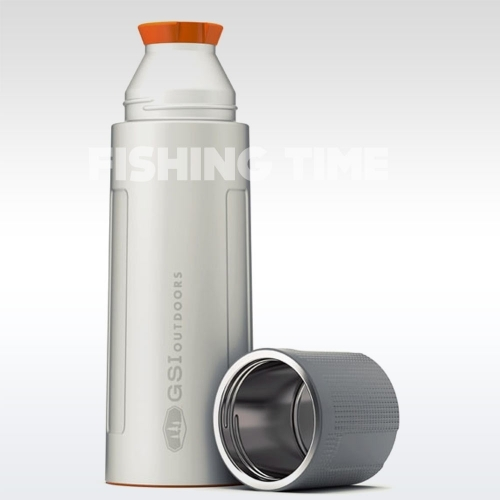 GSI Outdoors Glacier Stainless Vacuum Bottle Silver 1l termosz