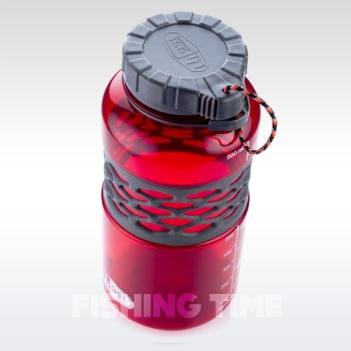 GSI Outdoors Infinity Dukjug 1l Red műanyag kulacs