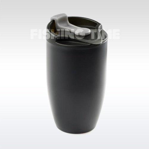 GSI Outdoors Glacier Stainless Doppio Mug Black termoszbögre