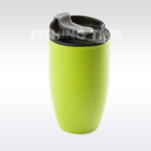 GSI Outdoors Glacier Stainless Doppio Mug Green termoszbögre