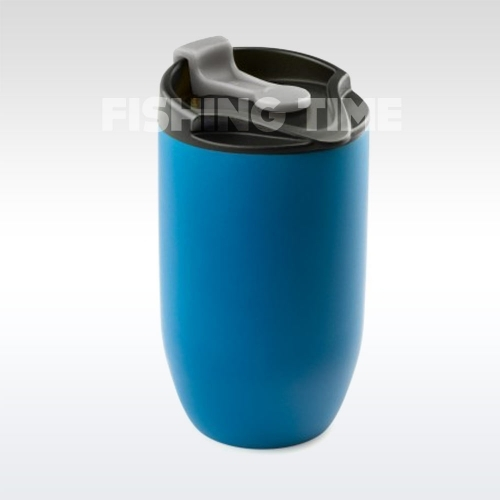 GSI Outdoors Glacier Stainless Doppio Mug Blue termoszbögre