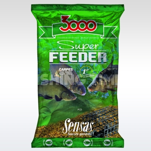 Sensas 3000 Super Feeder 1kg bézs