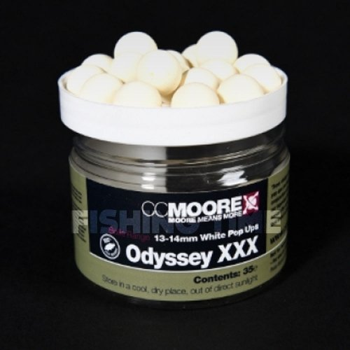 CCMore ODYSSEY XXX WHITE POP UPS 13/14MM