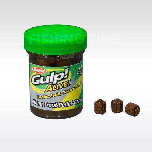 Berkley Gulp! Alive Trout Pellet Garlic - Natural