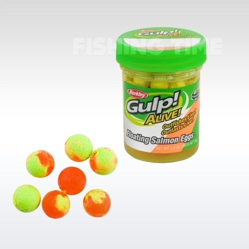 Berkley Gulp! Alive Floating Salmon Eggs Orange