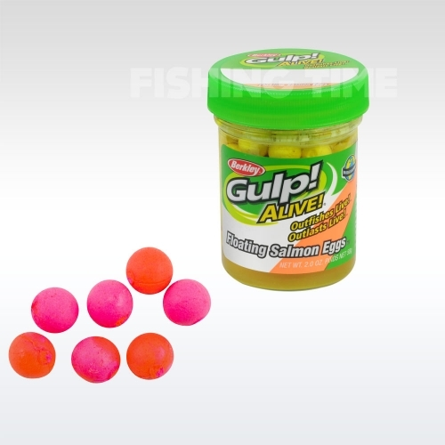 Berkley Gulp! Alive Floating Salmon Eggs Sherbet